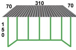 размеры остекления хрущевки с крышей