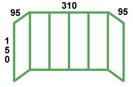 размеры остекления хрущёвки с выносом