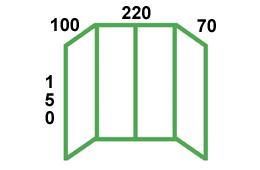 размеры остекления балкона п3