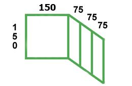 размеры остекления маленькой лоджии п-3м