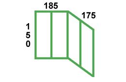 размеры остекления лоджии лодочка в доме серии п44