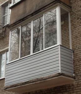 балкон хрущевки