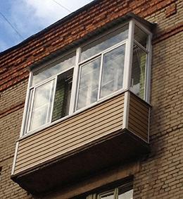 балкон с крышей на последнем этаже сталинки